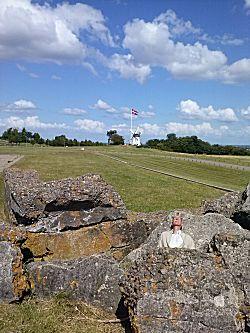 Oude Viking ruïne