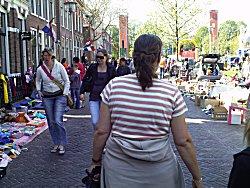 Koninginnedag in Franeker