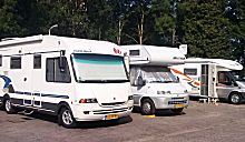 Camperplaats in Landweer