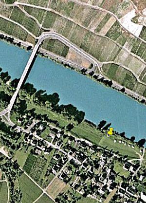 Detail view van camperplaats Losnich