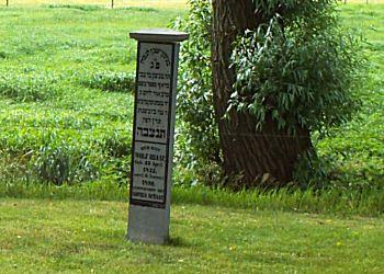 Joden begraafplaats tijdens wandelroute