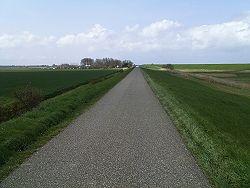 Een lange dijk