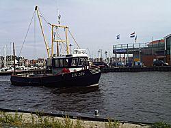 Urker vissersboot