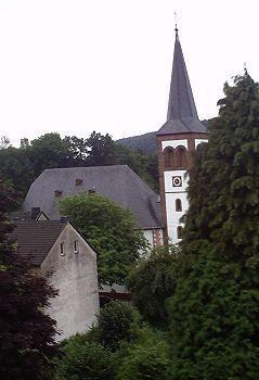 Uitzicht kerk