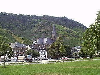 Aanzicht dorpje