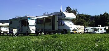 Camperplaats Losnich andere kant