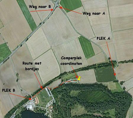 Navigatiefoutje met coordinaten