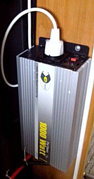 De omvormer van 1000 watt