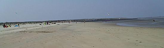 Er kon nog genoeg bij op het strand