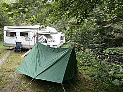 De derde campingplaats