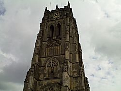 De kerk in Tongeren